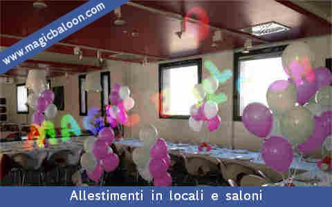 Palloncini cresima palloncino addobbi allestimenti palloni ragazzo ragazza italia - Decorazioni per cresima ...