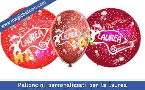 Palloncini festa laurea palloncino addobbi allestimenti for Addobbi per laurea